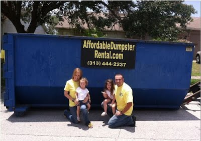 rent a roll off dumpster in michigan